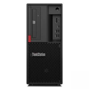 Настолен компютър Lenovo ThinkStation P330, шестядрен Coffee Lake Intel Core i7-8700K 3.7/4.7 GHz, 16GB DDR4, 256GB SSD, 30C5003EBL