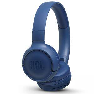 Безжични слушалки JBL T500BT, Bluetooth 4.1, JBL Pure Bass Sound, син, JBLT500BTBLU