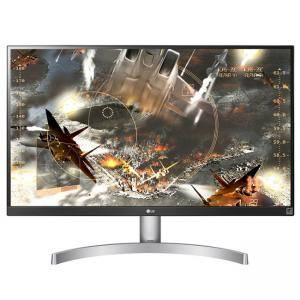 Монитор LG 27UL600-W, 27-инчов екран (3840x2160) LED, IPS, Anti-Glare, 5ms, 1000:1, Mega DFC, 350 cd/m2, HDMI, DisplayPort, FreeSync, 27UL600-W