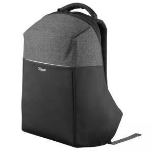 Раница, TRUST Nox Anti-theft Backpack for 16 инча laptops - Черна, 23083