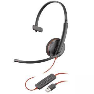 Слушалка с микрофон Plantronics Blackwire C3210, USB-A Mono, 209744-101