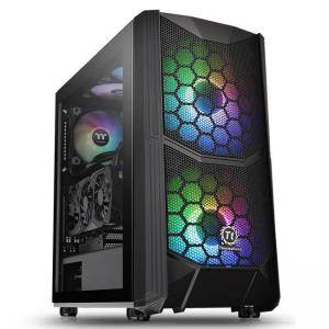 Кутия Thermaltake Commander C35 TG ARGB Mid Tower, THER-CASE-CA-1N6-00M1WN-00