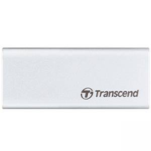 Външно SSD Transcend 120GB ESD240C USB 3.1 Gen 2 Type C External SSD, metallic case, transfer speeds of up to 520MB/s, TS120GESD240C