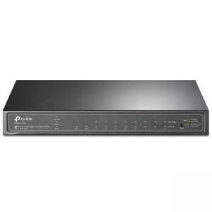 Комутатор TP-Link T1500G-10PS (TL-SG2210P) JetStream 8-Port Gigabit Smart PoE с 2 SFP слота, T1500G-10PS(TL-SG2210P)_VZ