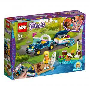 Конструктор Лего Френдс - Бъгито с ремарке на Stephanie, LEGO Friends, 41364