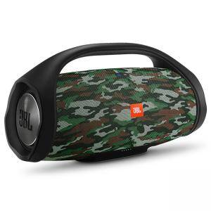 Преносима колонка JBL BOOMBOX Squad, JBL Connect+, Bluetooth, 3.5 mm jack, Li-Ion 20 000 mAh, камуфлаж, JBL-BOOMBOX-SQUAD