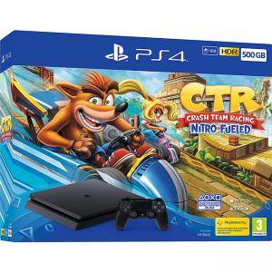 Конзола Crash Team Racing Nitro-Fueled 500GB PS4 Bundle (PS4)