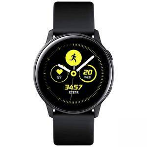 Смарт часовник Samsung Galaxy Watch Active, Schwarz, черен