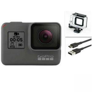 Екшън камера GoPro HERO 5 Black Waterproof Action 4K Ultra HD Camera Touch Screen Refurbished
