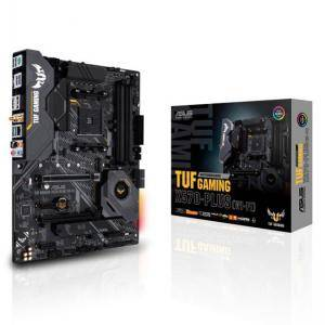 Дънна платка ASUS TUF GAMING X570-PLUS WI-FI socket AM4, 4xDDR4, Aura Sync, PCIe 4.0, ASUS-MB-TUF-X570-PLUS-GAMING-WIFI