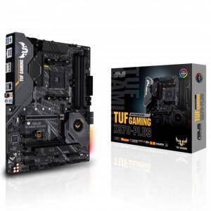 Дънна платка ASUS TUF GAMING X570-PLUS socket AM4, 4xDDR4, Aura Sync, PCIe 4.0, ASUS-MB-TUF-X570-PLUS-GAMING