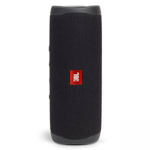 Портативна колонка JBL FLIP 5 BLACK, водоустойчива, Bluetooth 4.2, JBL PartyBoost, черен, JBLFLIP5BLK