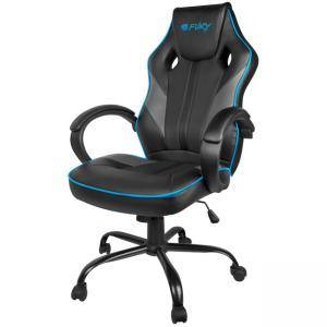 Геймърски стол Fury Gaming chair Avenger M, Black-Grey, NFF-1354