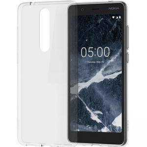Гръб за Nokia 5.1, прозрачен, NOKIA 5.1 CC-109 CLEAR CASE