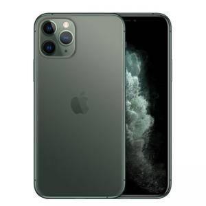 Смартфон Apple iPhone 11 Pro, 5.8-инчов екран (2436 x 1125), iOS 13, 4GB/64GB, LTE, Midnight Green, MWC62GH/A