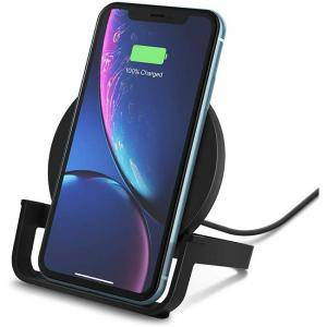 Зареждаща поставка Belkin Boost Up Wireless Charging Stand 10 W, Fast Wireless Charger for Android and iPhone