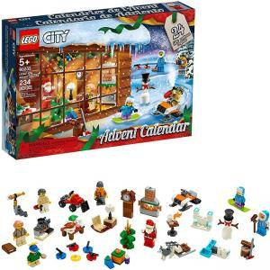 Конструктор ЛЕГО Сити 60235 - Календар Адвент, LEGO City Advent Calendar 60235 Building Kit
