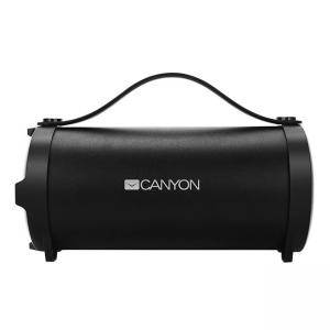 Безжична тонколона Canyon CNE-CBTSP6, 10 W, Bluetooth 4.2, 3.5mm AUX, micro-USB port, 1500mAh polymer, Black