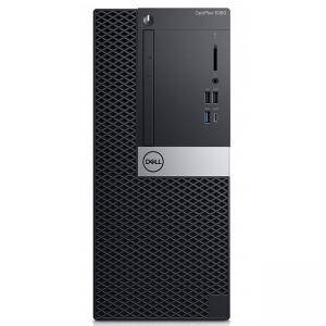 Настолен компютър Dell Optiplex 5060 MT, шестядрен Coffee Lake Intel Core i7-8700, N046O5060MT_UBU-14