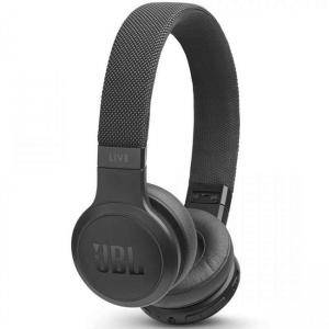 Безжични слушалки JBL LIVE400BT Black, Bluetooth 4.2, JBL Signature Sound, Multi-Point Connection, черни