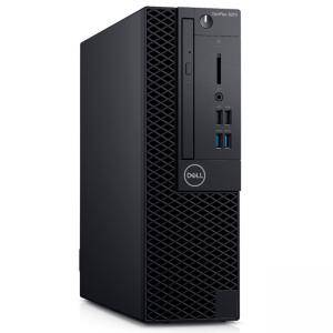 Компютър Dell OptiPlex 3070 SFF, Intel Core i3-9100 (6M Cache, 4.2 GHz), 4GB DDR4, 128GB SSD, Gigabit Ethernet/Fast Ethernet, N007O3070SFF_UBU-14