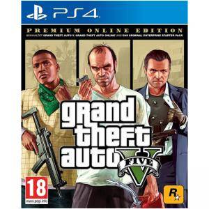 Игра Grand Theft Auto V - Premium online Edition GTA V (PS4)
