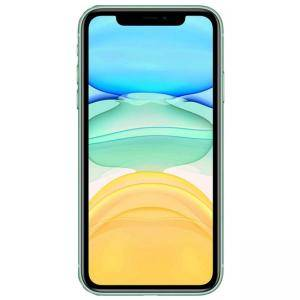 Смартфон Apple iPhone 11 128GB Green, LTE, Face ID, 6.1-инчов еркан (1792x828), Li-Ion 3110 mAh battery, MWM62GH/A