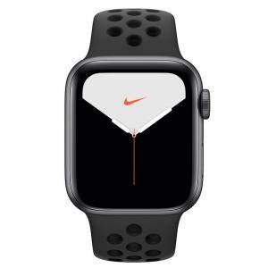 Смарт часовник Apple Watch Nike Series 5 GPS (40mm) Space Grey Aluminium Case with Anthracite/Black Nike Sport Band, MX3T2BS/A
