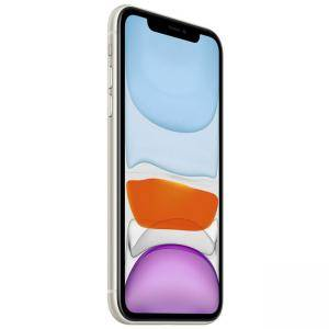 Смартфон Apple iPhone 11 128GB White, 6.1 инча (1792x828), Apple A13 Bionic, LTE, MWM22GH/A