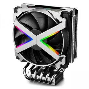 Охладител за AMD процесори DeepCool FRYZEN, Addressable RGB LED, Silver, DP-GS-MCH6N-FZN-A