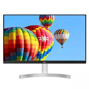 Монитор LG 24MK600M-W, 23.8 инча IPS LED, 5ms GTG, 1000:1, Mega DFC, 250cd/m2, FHD 1920x1080, D-Sub, HDMI, Radeon FreeSync, 24MK600M-W