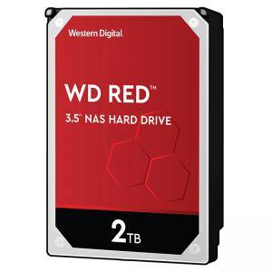 Твърд диск HDD 2TB SATAIII WD Red 256MB for NAS, WD20EFAX