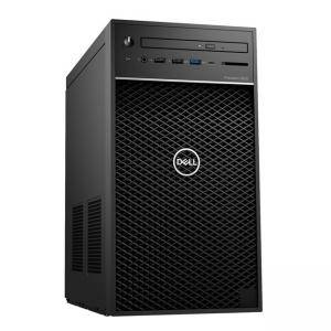 Работна станция Dell Precision 3630 Tower, Intel Core i7-9700, (3.6GHz, 12MB), 16GB DDR4, 256GB SSD, 1TB SATA, AMD Radeon Pro WX 5100, DELL02606