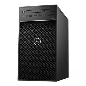 Работна станция Dell Precision 3630 Tower, Intel Xeon E-2224, (3.4GHz, 4Core, 8MB), 8GB DDR4, 1TB SATA, NVIDIA Quadro P400, DELL02612