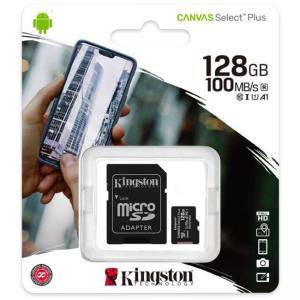 Карта памет Kingston Canvas Select Plus microSDHC 128GB, Class 10 UHS-I, KIN-SDCS2-128GB
