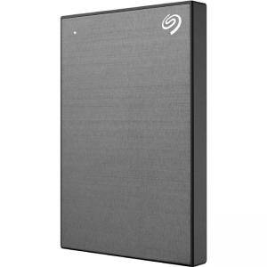 Външен диск Seagate Backup Plus Slim Portable 1TB 2.5 инча USB 3.0, Сив, STHN1000405