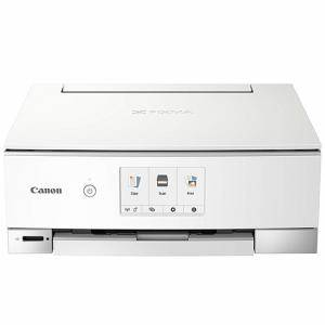 Мастилоструйно многофункционално устройство, Canon PIXMA TS8251 All-In-One, Print, Copy, Scan, Wi-Fi, Bluetooth, PIXMA Cloud Link, Бял, 2987C026AA
