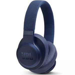 Блутут слушалки с микрофон JBL, Bluetooth 4.2, On ear-cup, Син, LIVE500BT