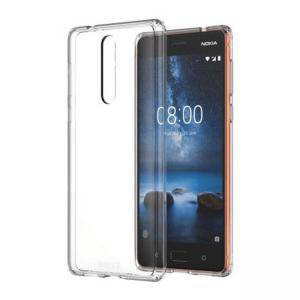 Калъф Nokia 8 Hybrid Crystal Case Cover CC-701, прозрачен, MO-NO-TA26