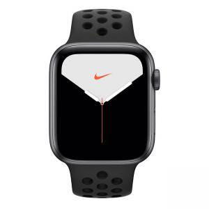 Смарт часовник Apple Watch Nike Series 5 GPS (44mm)Space Grey Aluminium Case with Anthracite/Black Nike Sport Band, MX3W2BS/A