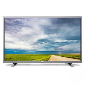 Телевизор Philips 32 инча HD TV, DVB-T/T2/T2-HD/C/S/S2, Pixel Plus HD, Incredible Surround, Clear Sound 10W, сребрист, 32PHS4504/12