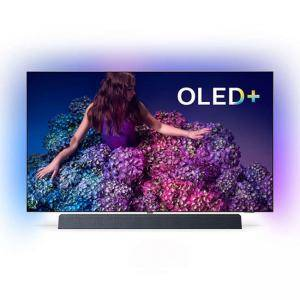 Телевизор Philips 55 инча OLED, 4K UHD Android TV 3-sided Ambilight, Bowers/Wilkins, процесор P5 Perfect Picture, HDR10+, 5000 PPI, 55OLED934/12