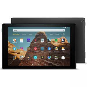 Таблет Fire HD 10 - 10.1-инчов FULL HD дисплей (1080p), 32 GB, черен REFURBISHED