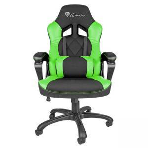 Геймърски тол Genesis Gaming Chair Nitro 330 Black-Green, NFG-0906
