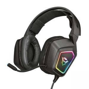 Слушалки TRUST GXT 450 Blizz RGB 7.1 Surround Gaming Headset, жични, микрофон, 23191