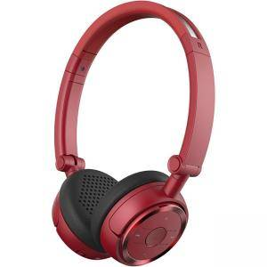 Слушалки Edifier W675BT Wireless Headphones - Bluetooth v4.1 On-Ear Earphones, Foldable with NFC Quick Connect - Red