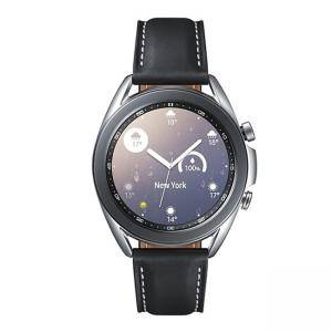 Смарт часовник Samsung Galaxy Watch3 (41mm) Bluetooth, NFC, 5ATM + IP68, Li-Ion 247 mAh, Mystic Silver, SM-R850NZSAEUE