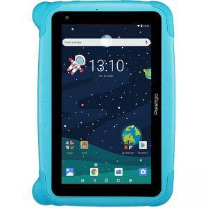 Детски таблет Prestigio Smartkids, wifi, 7 инча IPS display, android 8.1 (go edition), 1GB RAM+16GB ROM, 0.3MP front+2MP rear camera, Син, PMT3197_W_D