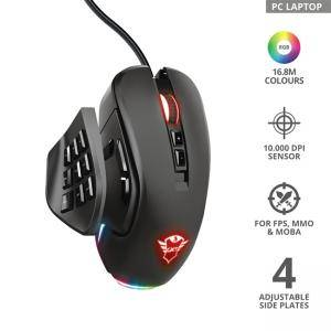 Мишка TRUST GXT 970 Morfix Customisable RGB Gaming Mouse,23764