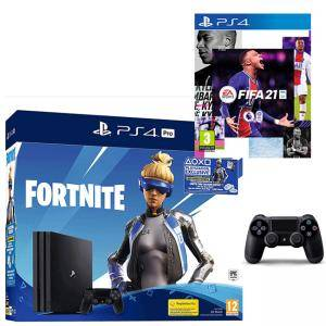 Конзола Sony PlayStation 4 Pro 1TB (PS4 Pro 1TB) + Fortnite Neo Versa